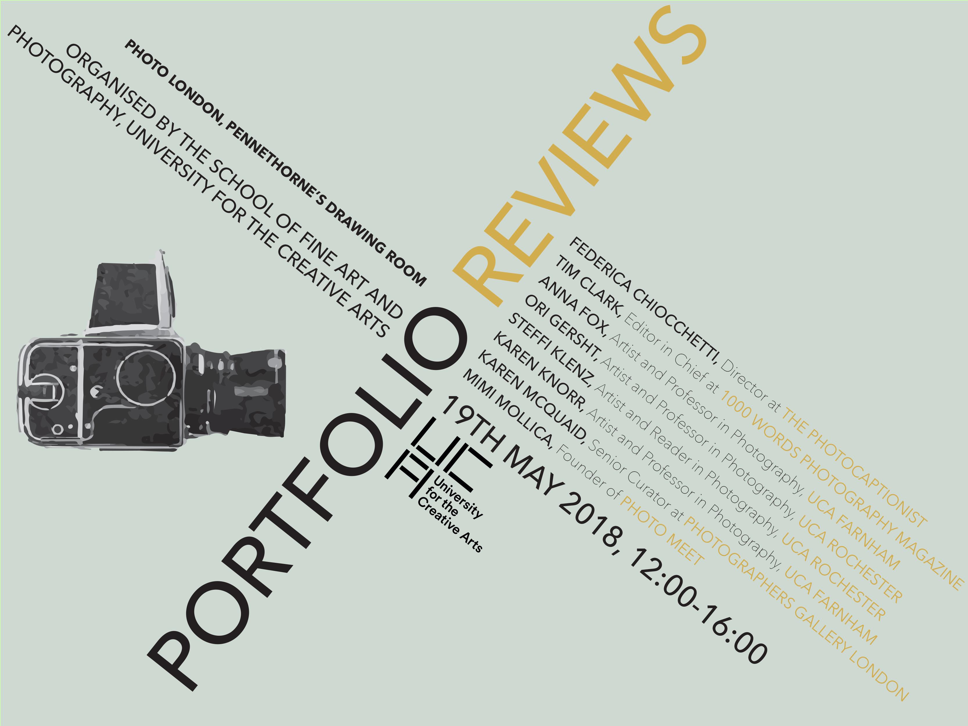 Portfolio Review Day Photo London