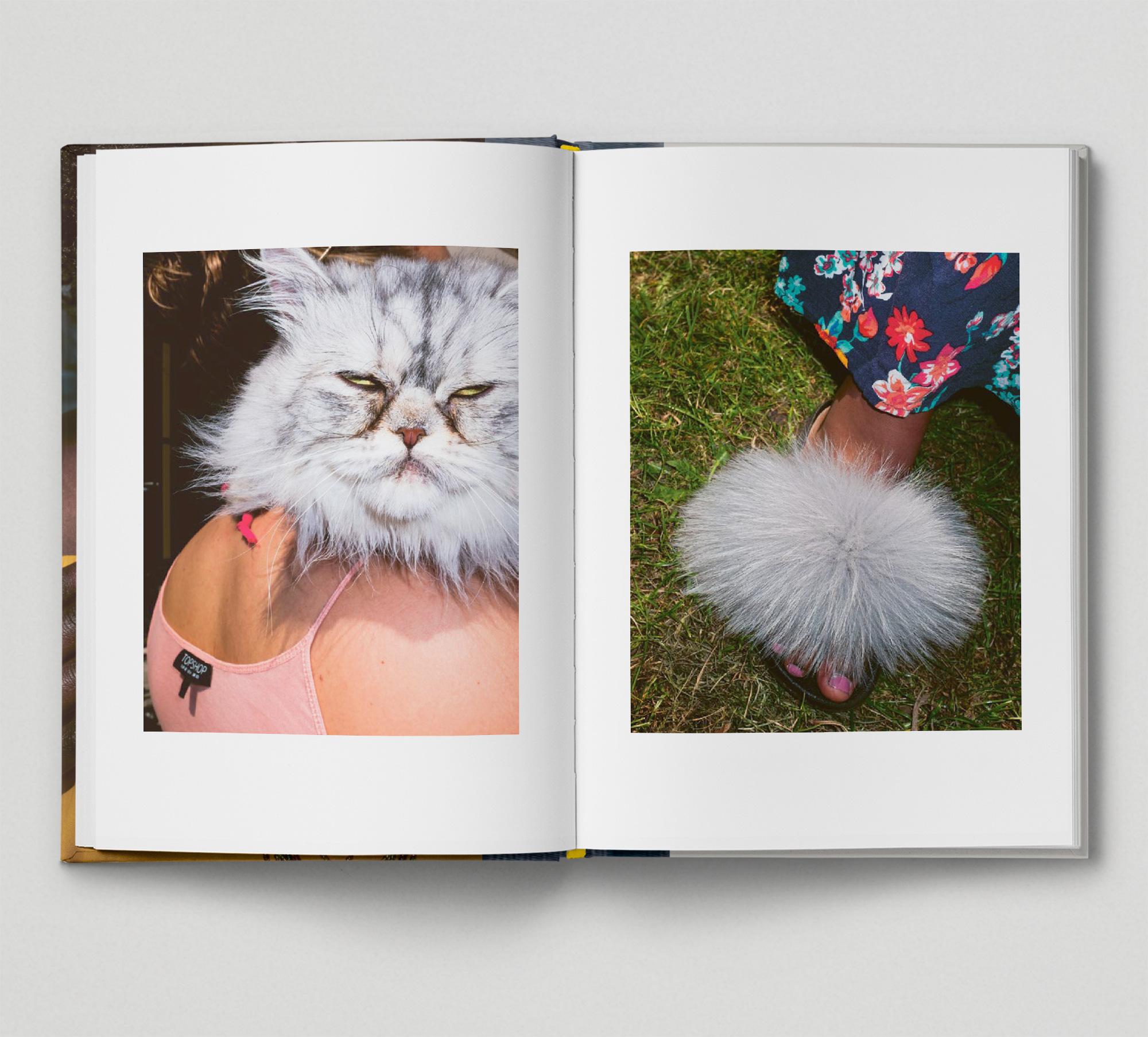 Mimi Mollica East London Cat Fur Shoes