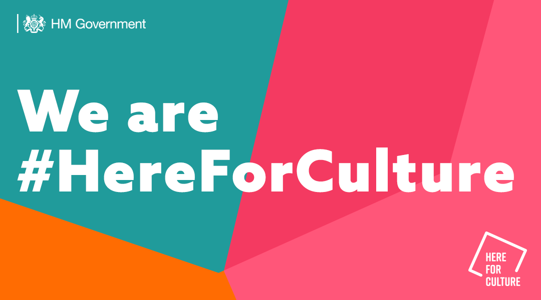 here for culture government recovery fund