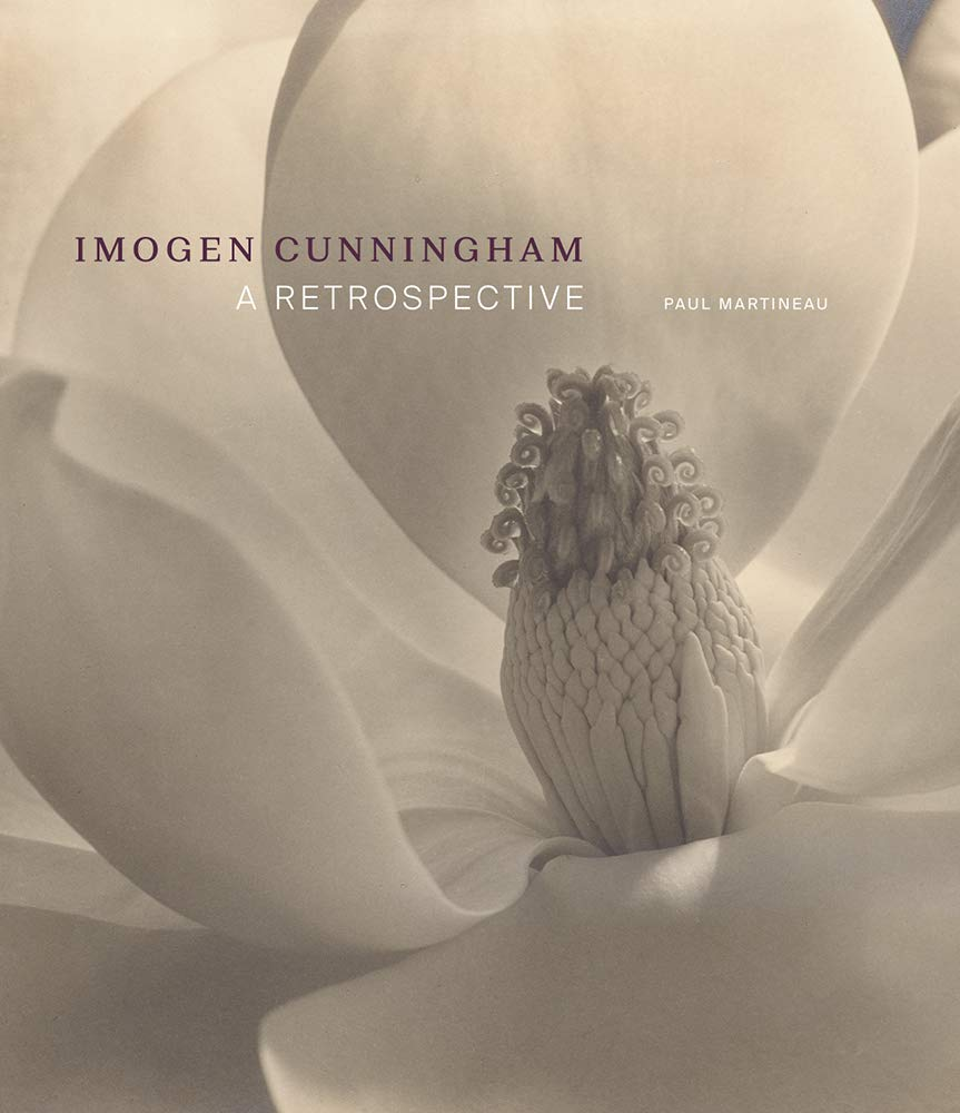 Imogen Cunningham: A Retrospective cover Paul Martineau GETTY Publications
