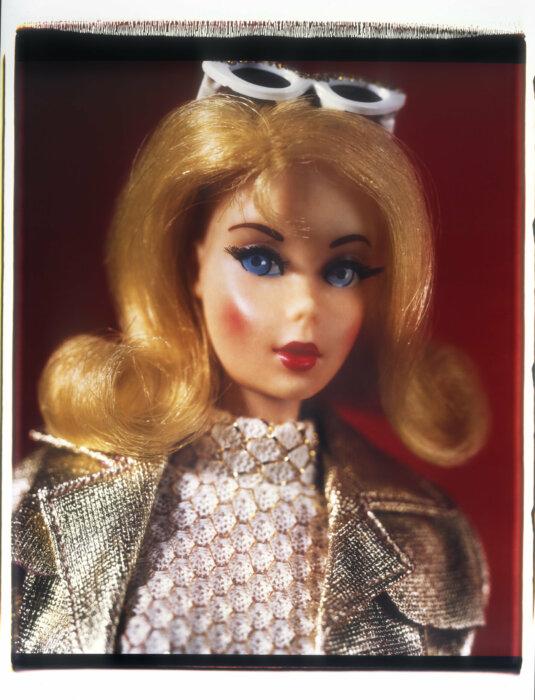 portrait of a blond barbie david levinthal